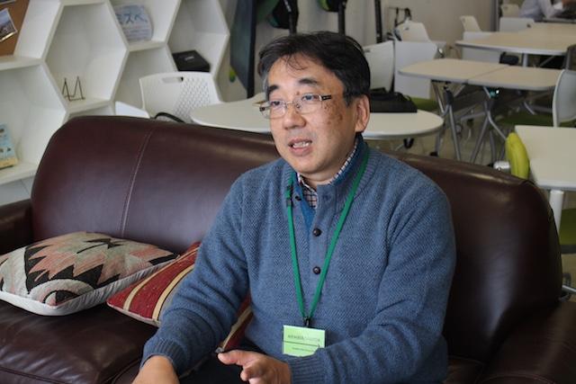 パターン・ランゲージが持つ潜在的な可能性について語る岡田さん