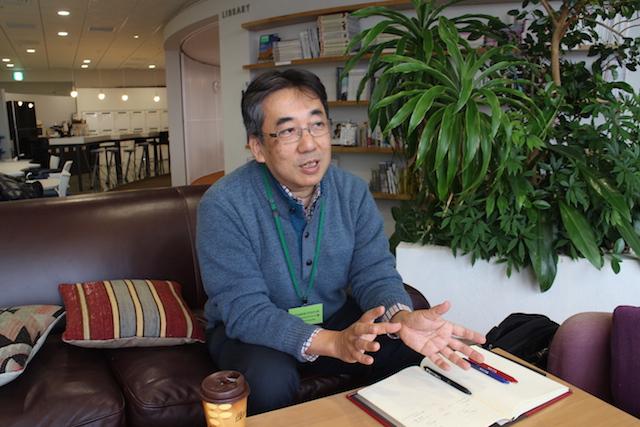 人文系の技術について語る岡田さん