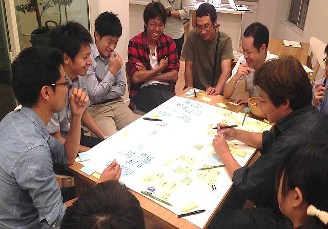 薩摩川内の若手農家を集めて、未来を語るフューチャー・ランゲージ・ワークショップを実施。