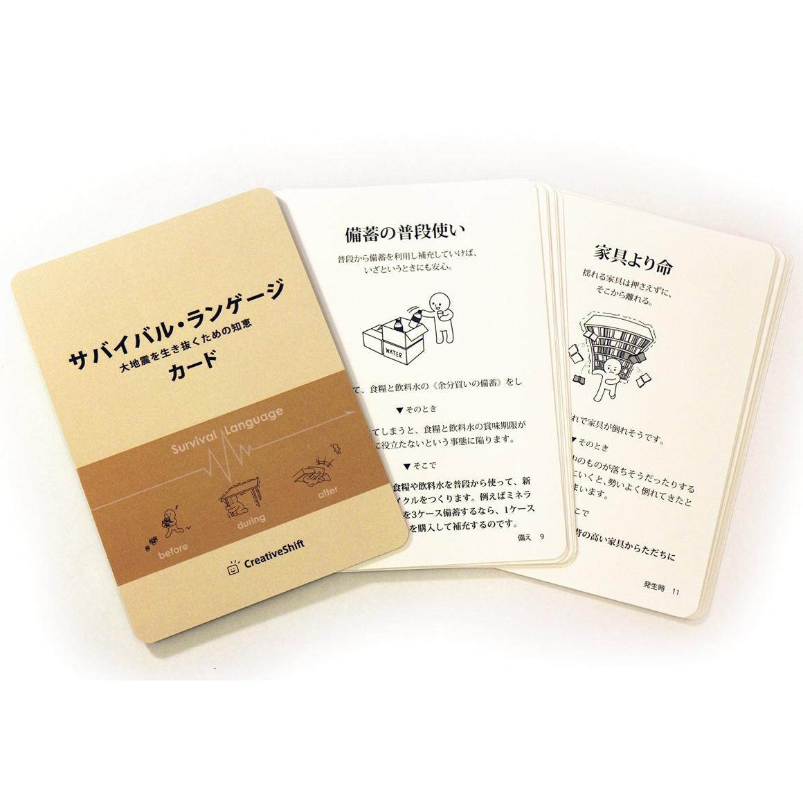 サバイバル・ランゲージ・カード(大地震を生き抜くための知恵)