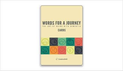【英語版】Words for a Journey<カード>